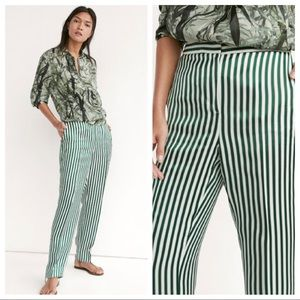 Massimo Dutti tailored striped pants